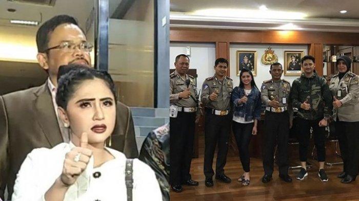 Kasus Terobos Busway, Dewi Perssik: Alhamdulilah. . .