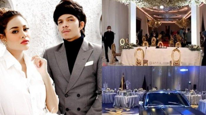 Mewahnya Dekorasi Akad Nikah Atta Halilintar & Aurel Hermansyah,Digelar di Hotel Raffles Jam 1 Siang