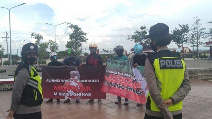 Dalam Satu Hari, Polisi Bubarkan Dua Aksi Demo di Sukoharjo Tak Berizin