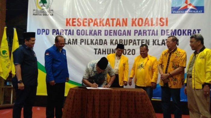 Dikhianati PDI-P, Golkar Klaten Rangkul Demokrat untuk Lawan Sri Mulyani