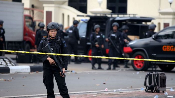 Polisi Buru Lima Terduga Teroris yang Hendak Serang Mako Brimob untuk Bebaskan Para Tahanan