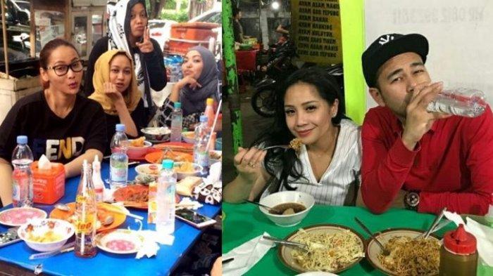 Viral TikTok Cewek Bangga Nongkrong di Mall, Para Artis 'Sultan' Malah Enjoy Makan di Pinggir Jalan