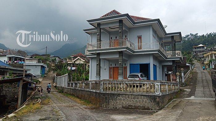 Rumah salah satu warga Desa Bubakan, Wonogiri