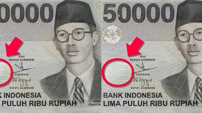 Apa Kalian Tahu? Ternyata Ada Sesuatu yang Unik di Desain Uang 50 ...