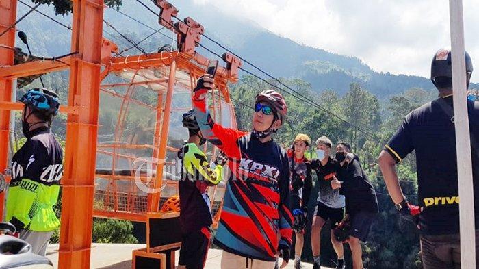 Sensasi Naik Gondola Sembari Menikmati Pemandangan Gunung Merapi di Klaten, Segini Harga Tiketnya