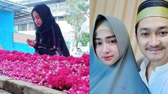 Foto Dewi Perssik Kunjungi Makam Sang Ayah Ramai Komentar, Angga Wijaya Tulis Soal 7 Penyakit Hati