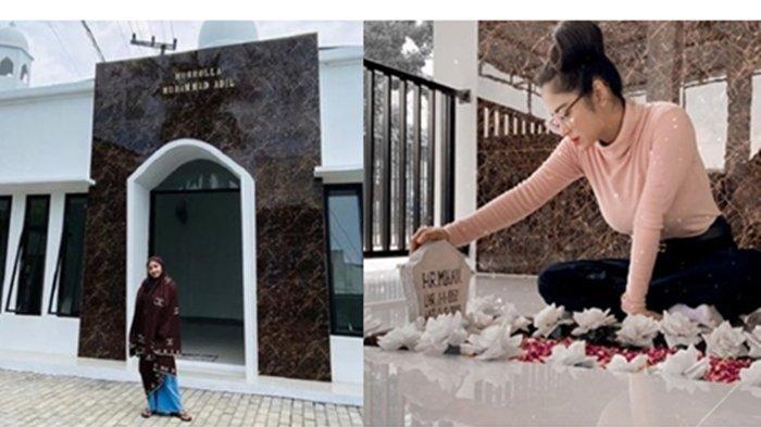 Dewi Perssik Bangun Musholla di Samping Makam Sang Ayah di Jember, Boleh Dipakai untuk Umum
