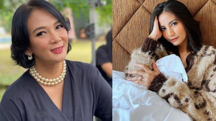 Saingan Sinetron, Dian Nitami dan Natasha Dewanti Bersahabat di Dunia Nyata, Bahagia Bisa Bertemu