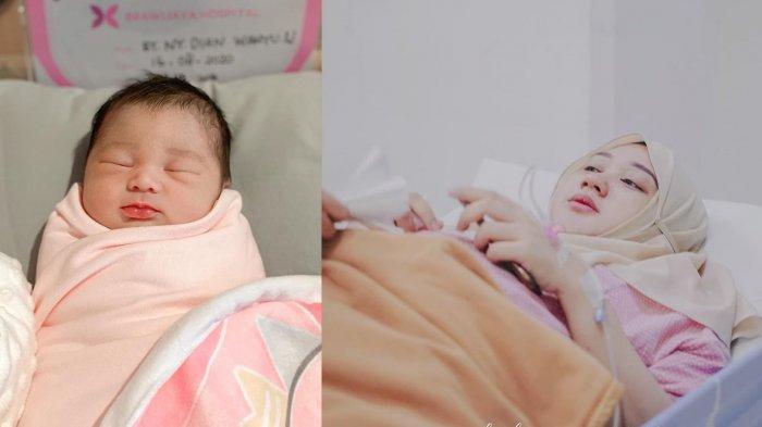 Dian Pelangi Lahirkan Bayi Perempuan, Intip Potret Detik-detik Jelang Lahiran, Suami Setia Dampingi