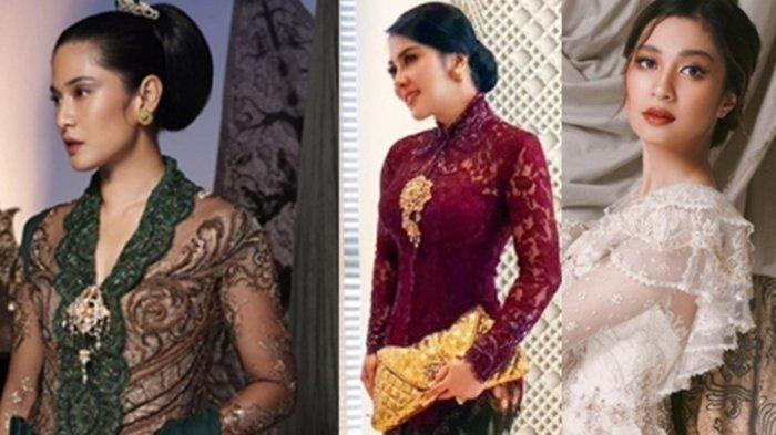 Foto-foto Para Artis Berkebaya, Berpakaian Tradisional di Hari Kartini, Ada Syahrini Hingga Nagita