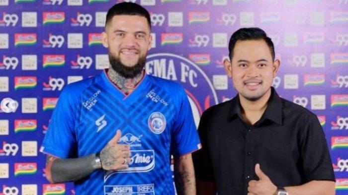 Bukan karena Cedera, Ini Alasan Diego Michiels Tak Ikut Arema FC di Piala Wali Kota Solo
