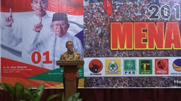 Aria Bima Minta Timses di Karanganyar Sosialisasikan Jokowi-Ma'ruf sampai ke Tingkat RT/RW