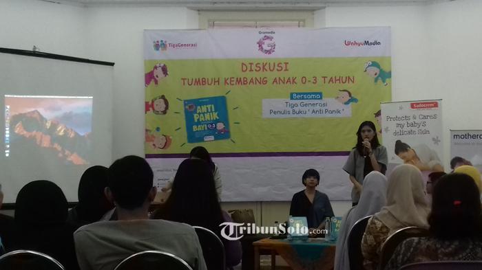 Diskusi Tumbuh Kembang Anak di Balai Soedjatmoko Solo Bantu Orang Tua Pahami Pola Asuh Anak