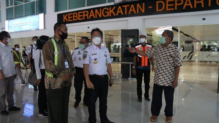 Terjun Langsung Cek Bandara Adi Soemarmo, Ditjen Perhubungan Pastikan Penerapan PM 25 Tahun 2020