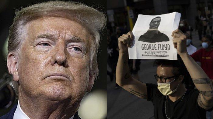 Kakak George Floyd Ungkap Ulah Menyakitkan dari Donald Trump Saat Sampaikan Telepon Duka Cita