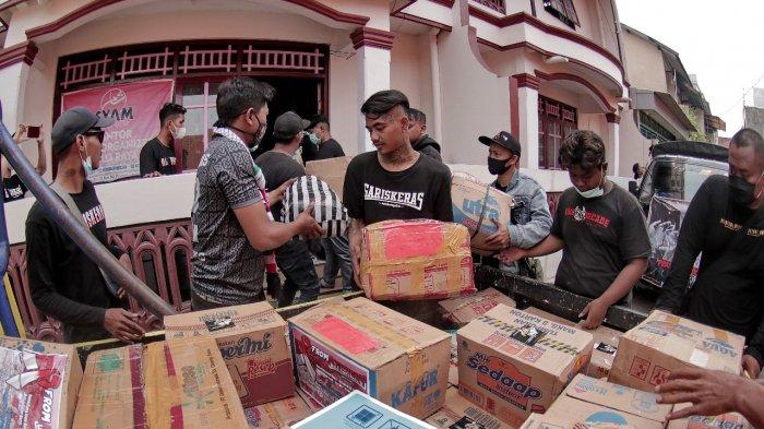 Bantu Korban Bencana, Kelompok Suporter Persis Solo Gelar Aksi Donasi, Terkumpul Rp 21 Juta
