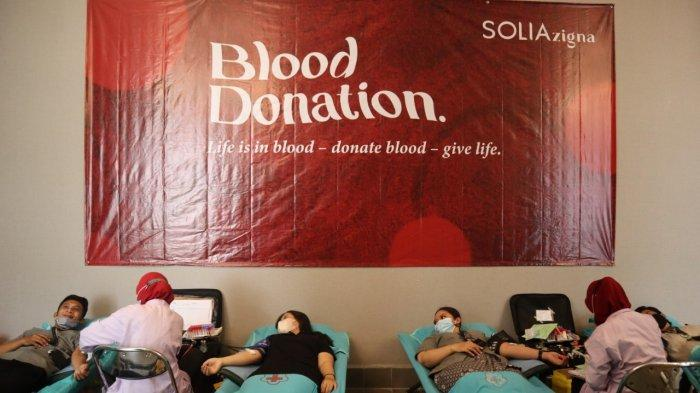 Jalin Kerjasama Dengan PMI, Solia Zigna Adakan Donor Darah