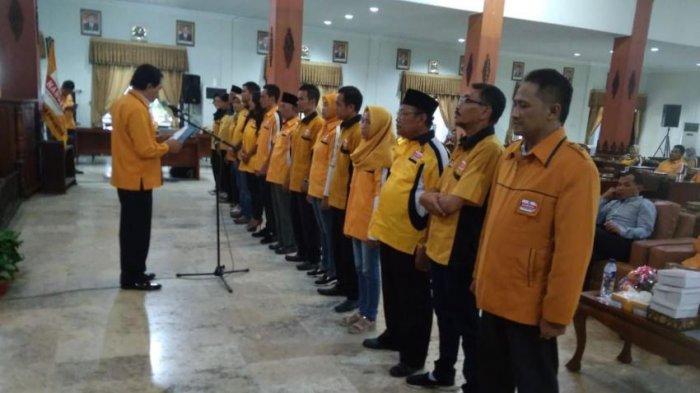 DPC Hanura Karanganyar Lantik Ketua dan Sekretaris Baru