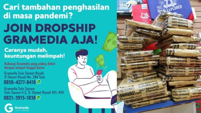 Peluang Usaha Tanpa Modal Saat PPKM : Jadi Dropship Toko Buku Gramedia, Simak Caranya