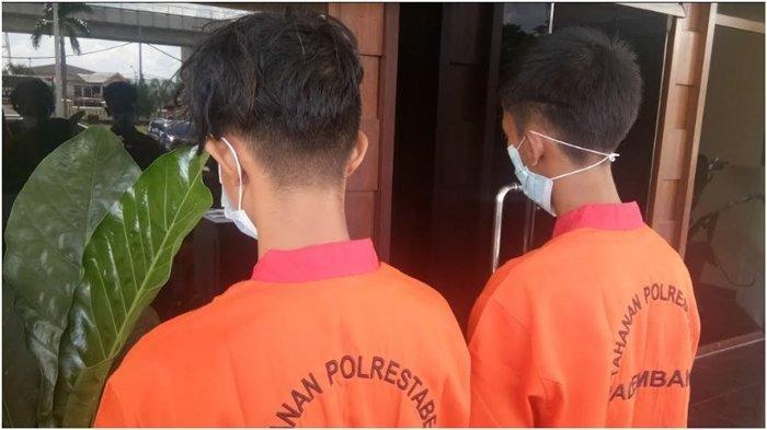Beralasan Perbaiki Vespa yang Rusak, Dua Remaja di Palembang Nekat Jambret Ponsel Putri 12 Tahun