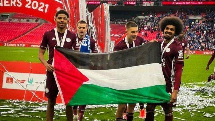 Wesley Fofana Bek Leicester City Pengibar Bendera Palestina, Pemain Muslim yang Dikenal Rajin Puasa