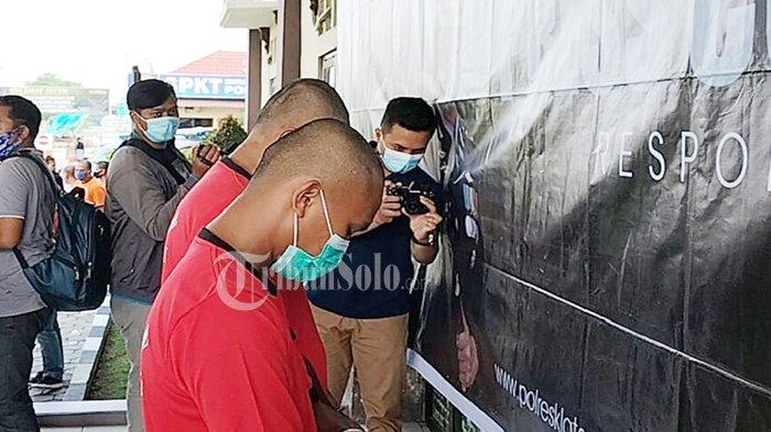 Tak Percaya Corona & Berani Ancam Bunuh Kapolsek di Klaten, Dua Pria Boyolali Lemas, Hanya Menunduk
