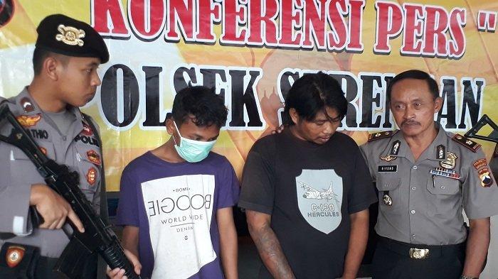 Petugas Polres Serengan Solo Tangkap 2 Pelaku Pencurian di Toko Candi Elektronik
