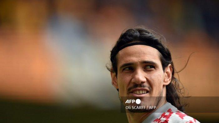 Cuma Jadi Penghangat Bangku Cadangan Uruguay, Edinson Cavani Diminta Cabut Dari Manchester United