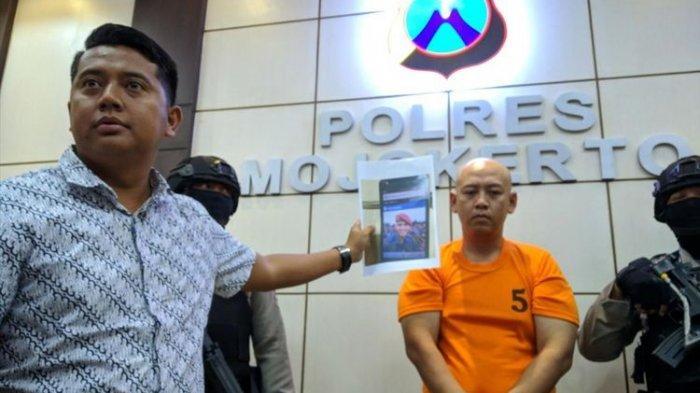 Mengaku Sebagai Anggota TNI di Sosmed, Pria Botak Ini Meniduri dan Menguras Harta 16 Perempuan