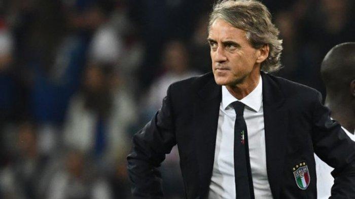 Kelakuan Mancini Jelang Italia vs Wales : Turunkan Lapis Kedua, Setarakan Musuhnya dengan Stoke City