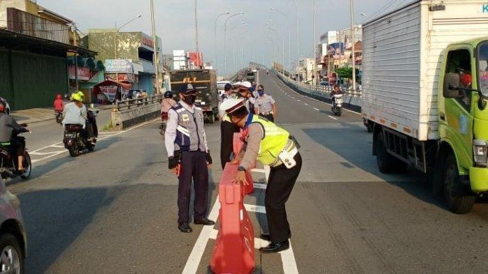 Sejumlah Titik Rawan Kecelakaan di Karanganyar Dipasang Barikade, 1 di Antaranya di Flyover Palur