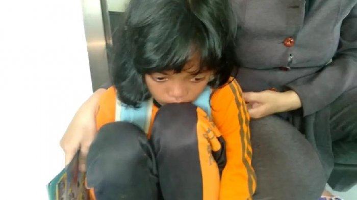 Gowes Sendirian Tak Terasa Sudah Sejauh 33 Km, Bocah SD Asal Weru Sukoharjo Ini Tersesat di Solo