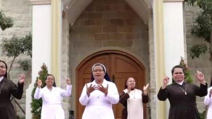 Viral Video 6 Suster di Jember Bernyanyi Lagu Idul Fitri, Ternyata Ada Cerita Panjang di Baliknya