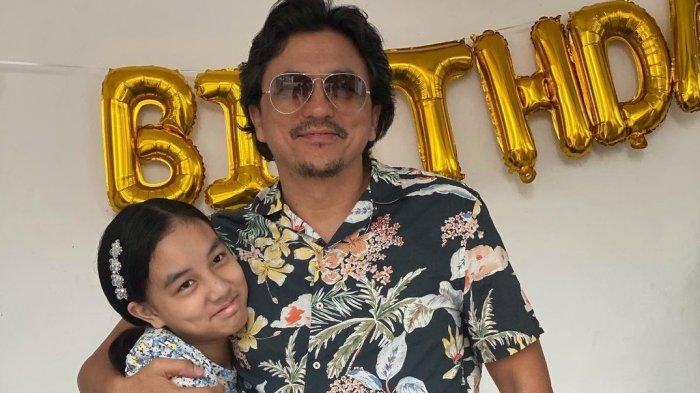 Sudah Pisah dari Laudya Cynthia Bella, Engku Emran Rayakan Ulang Tahun ke-46 dengan Putrinya