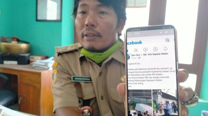 Heboh RW Disebut Provokasi Penolakan Jenazah Perempuan di Klaten, Ternyata Meninggal Akibat Migren