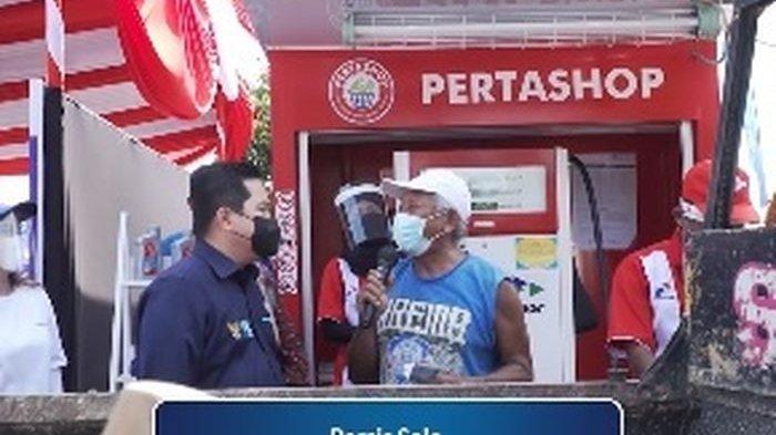 Viral Video Erick Thohir Rayu Sopir Pikap Dukung Persis Solo, Langsung Diisikan BBM Gratis