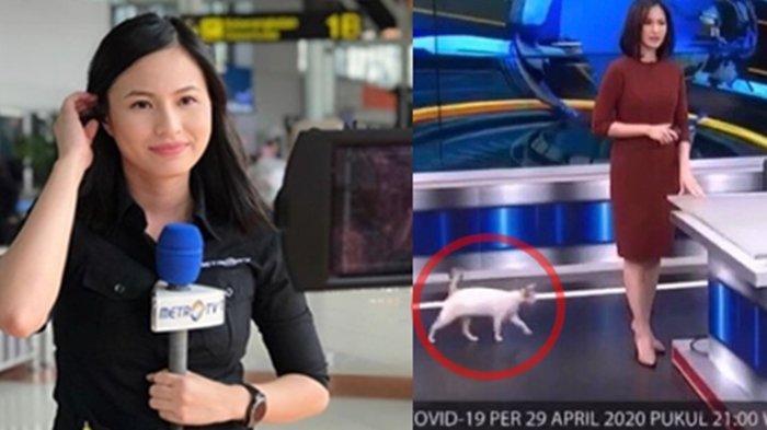 Eva Wondo Berbagi Cerita Pasca Video Kucing Masuk Studio Saat Ia Bacakan Berita Metro TV Viral