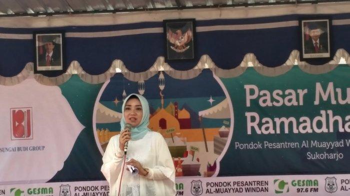 Di Solo, Staf Khusus Mendag, Eva Yuliana, Jelaskan Fungsi Pasar Murah Kala Ramadan
