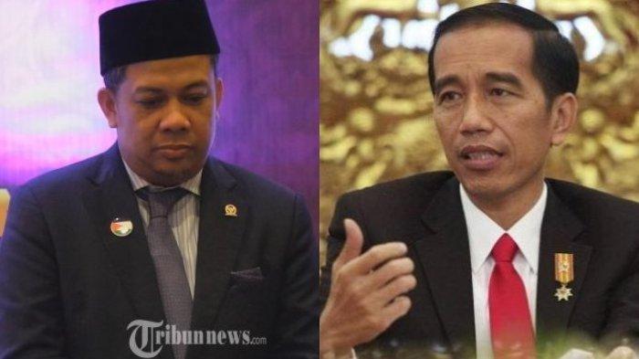 Kuliti Pernyataan Marah Jokowi ke Para Menteri, Fahri Hamzah : Presiden Seperti Mengiba