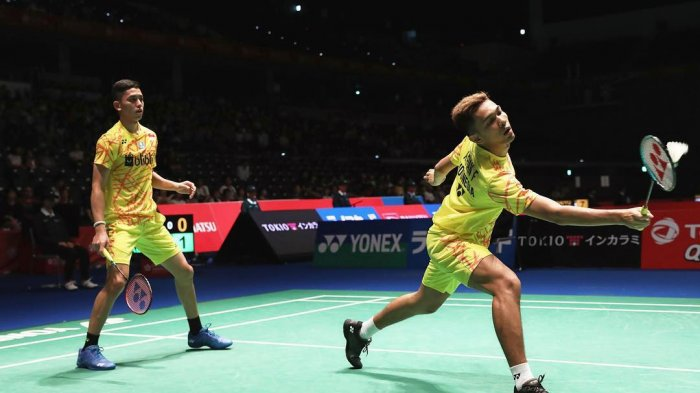 Fajar/Rian dan Rinov/Pitha Lolos ke Final Syed Modi International 2018 di India
