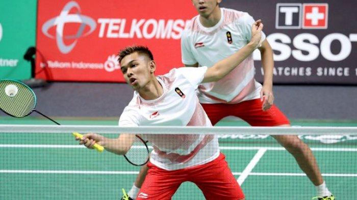 Hasil Indonesia Open 2019: Fajar/Rian Menang Atas Pasangan China