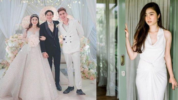 Natasha Wilona Hadir, Verrell Bramasta Gandeng Febby Rastanty di Acara Pernikahan Felicya Angelista