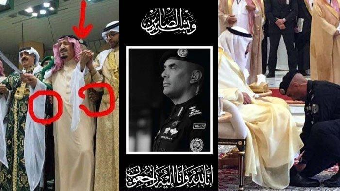 Foto-foto Kenangan Bakti Al Fagham Sang Bodyguard Raja Salman, Menopang Raja Sampai Pakaikan Sepatu