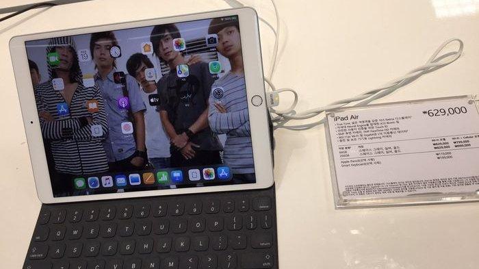 Ada Wajah Andika Kangen Band di Wallpaper iPad yang Dijual di Apple Store Korea, Andika Oppa Viral