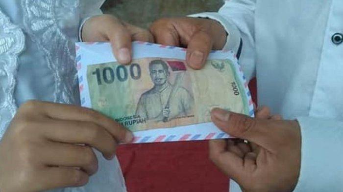 Viral Maskawin Uang Rp 1.000 Gambar Patimura, Pengantin Wanita Ungkap Makna di Baliknya
