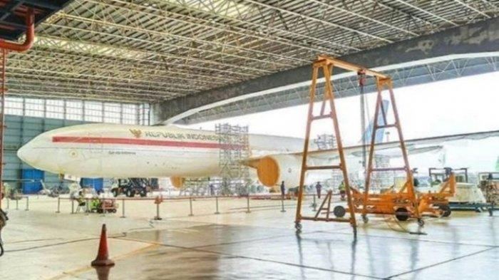 Viral Foto Diduga Pesawat Baru Kepresidenan, Ini Kata Istana
