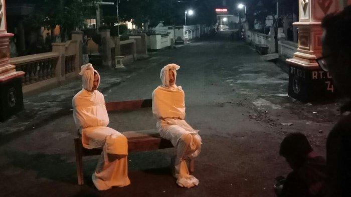 Kostum Pocong Sempat Viral hingga Korea, Pemuda Desa Kepuh Sukoharjo Putuskan Hentikan Aksinya