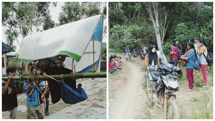 Viral Foto Warga di Luwu Utara Ditandu 20 Km untuk Berobat ke Puskesmas, Terungkap Fakta Miris Ini