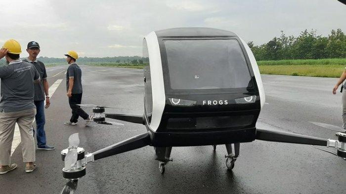 Bermula dari Tantangan, Inilah 7 Fakta Unik Taxi Drone Frogs 282 Buatan Yogyakarta