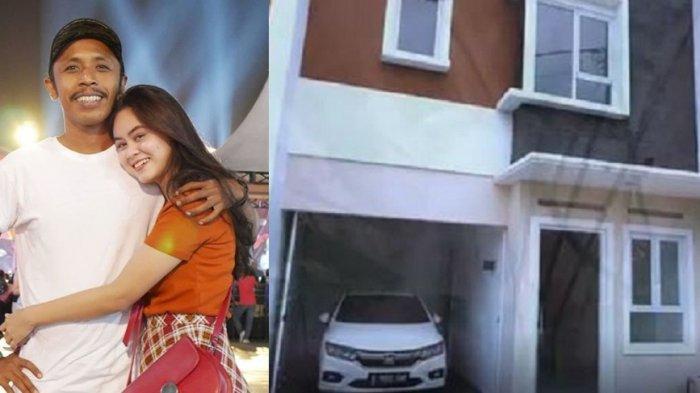 Furry Setya pemeran Mas Pur di Tukang Ojek Pengkolan dan istri tunjukkan rumah baru mereka